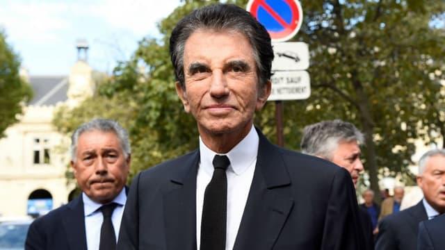 L'ancien ministre de la Culture, Jack Lang, le 1er septembre 2017 à Paris.
