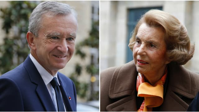 Bernard Arnault reprend la tête du classement à Liliane Bettencourt