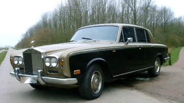 Cette Rolls-Royce Silver Shadow de 1972 a eu comme premier propriétaire Michel Sardou.