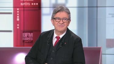 Jean-Luc Mélenchon sur notre plateau.