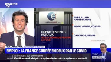 Emploi : la France coupée en deux par le Covid - 28/11