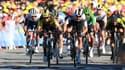 L'arrivée de la 5e étape du Tour de France
