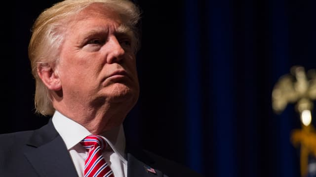 Donald Trump à Ashburn, en Virginie, le 2 août 2016. - Molly Riley - AFP