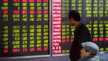 Nouvelle glissade à Shanghai, chute du pétrole... le CAC40 commence la semaine sur ses plus bas niveaux en 12 mois.