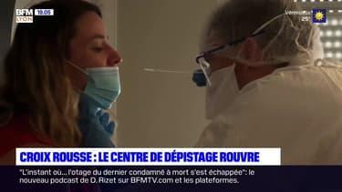 Hôpital de la Croix-Rousse : le centre de dépistage rouvre