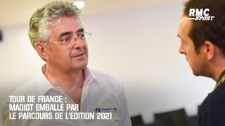 Tour de France : Madiot emballé par le parcours de l'édition 2021