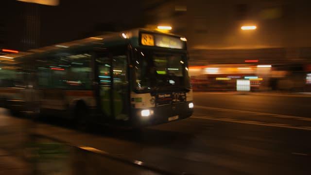 Une expérimentation de l'arrêt à la demande dans les bus de nuit sera bientôt lancée en Ile-de-France.
