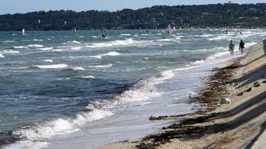 La plage de La Capte à Hyères fait partie des plages fermées ce lundi 13 août.