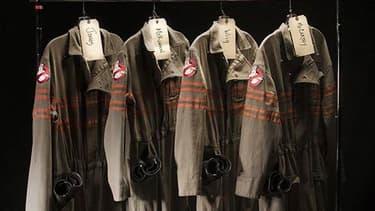 """Les costumes de l'équipe de """"Ghostbusters"""", les chasseuses de fantômes de Paul Faig."""