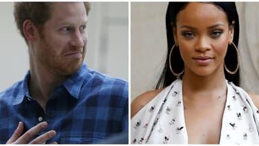 Le prince Harry et la chanteuse Rihanna se sont rencontrés pour la première fois mercredi, à la Barbade.