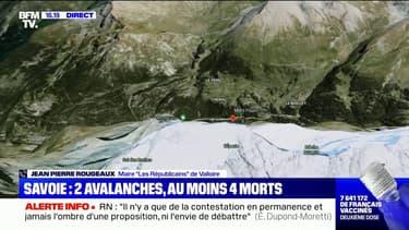 """Avalanches en Savoie: le maire de Valloire appelle les randonneurs """"à ne pas sortir demain"""""""
