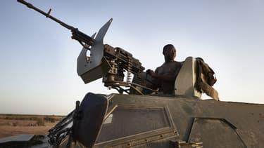 Photo d'illustration d'un soldat de l'armée burkinabée