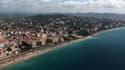 Une vue de la Côte d'Azur.