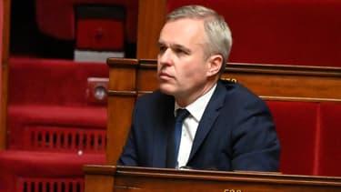 François de Rugy assiste à une session de questions au gouvernement à l'Assemblée nationale, le 17 septembre