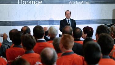 François Hollande estime que les efforts des salariés de Florange n'ont pas été vains.