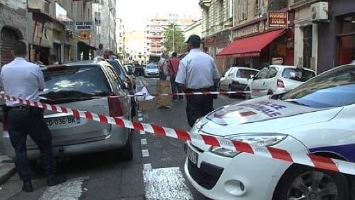 Les lieux du drame, mercredi 11 septembre à Nice.