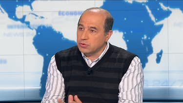 Le docteur Muhamed-Kheir Taha, responsable des unités des infections bactériennes à l'Institut Pasteur de Paris, le 25 février 2014