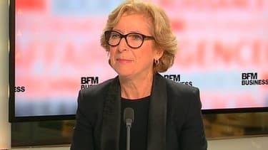Geneviève Fioraso était l'invitée de BFM Business, ce mercredi 9 octobre.