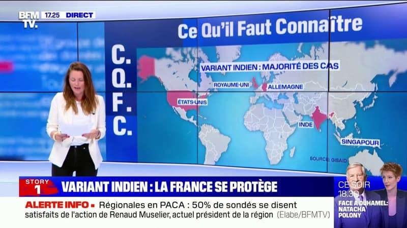 Covid-19: où en est la menace du variant indien ?