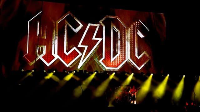 Le groupe AC/DC sur scène à Coachella en 2015