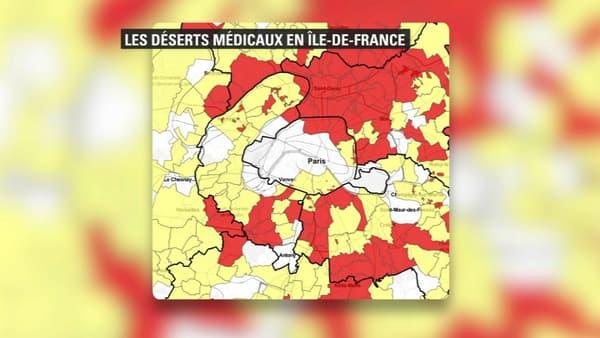 L'Ile-de-France, premier désert médical de l'Hexagone