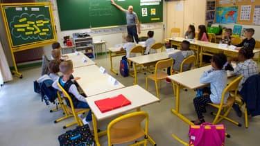 Salle de classe à Clermont-Ferrand (illustration)