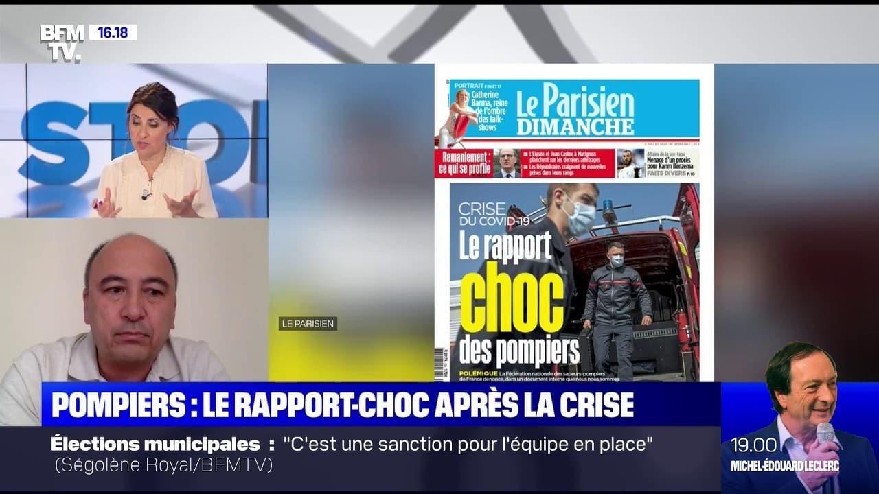 """Rapport-choc des pompiers: pour Eric Revue, """"c'est polémique et inutile"""""""