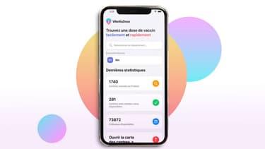 """L'application """"Vite Ma Dose !"""", disponible sur iOS et Android"""