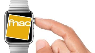 D'abord disponible dans le seul magasin des Champs-Elysées, l'Apple Watch sera présente dans 50 magasins Fnac d'ici quelques mois.