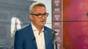Stéphane Ravier sur BFMTV-RMC, le 15 juillet.