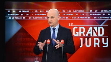 Le ministre de l'Éducation nationale, Jean-Michel Blanquer, le 10 janvier 2021