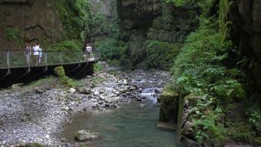 Les gorges de Kakuetta au Pays basque (Photo d'illustration).