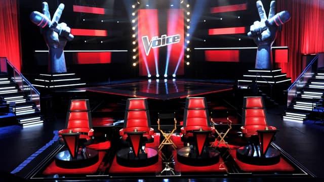 Le plateau de l'émission The Voice