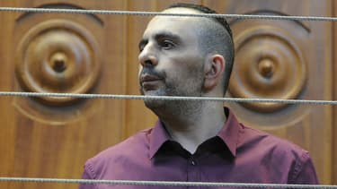 Une peine de réclusion criminelle à perpétuité assortie de 22 ans de sûreté a été requise contre Kamel Bousselat, ici lors de l'ouverture de son procès le 13 juin 2016.