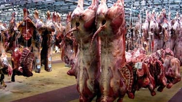 Selon Marine Le Pen, 100% de la viande distribuée en Ile-de-France serait halal.