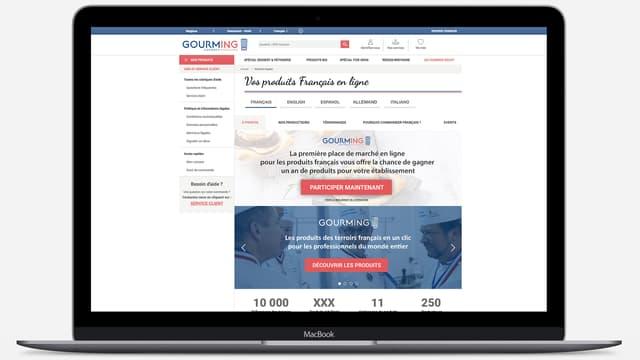 Chaque référencement de produit implique un droit d'entrée de 100 euros sur la plateforme Gourming qui prélève aussi une commission de 25% sur les ventes de produits référencés.