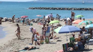 Une plage de Saint-Cyprien le 5 juillet 2020.