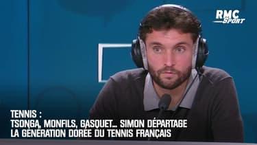 Tsonga, Monfils, Gasquet... Simon départage la génération dorée du tennis français
