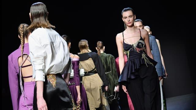 La Milan Fashion Week en février 2020