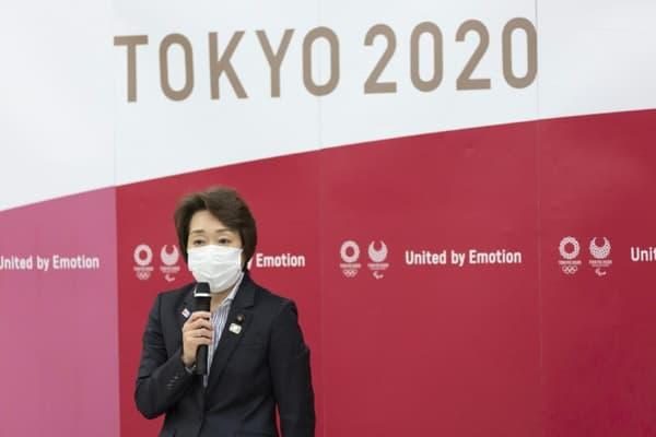 Seiko Hashimoto, médaillée olymique, nommée présidente des JO de Tokyo le 18 février 2021.