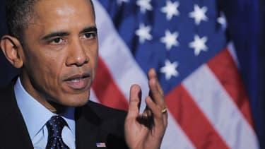 Barack Obama a semblé avoir durci sa position, ce samedi 12 octobre