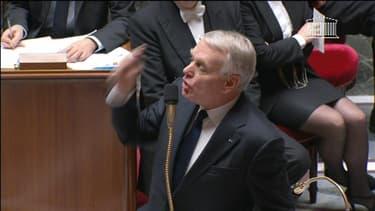 Le Premier ministre à l'Assemblée nationale le 4 décembre 2013.