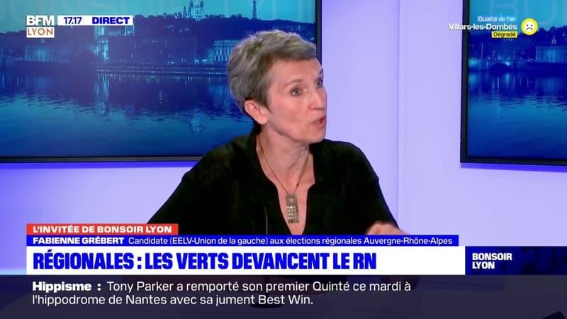 """""""Une très belle surprise"""": Fabienne Grébert se félicite des 14,45% de suffrages reçus par sa liste pour les régionales en Auvergne-Rhône-Alpes"""