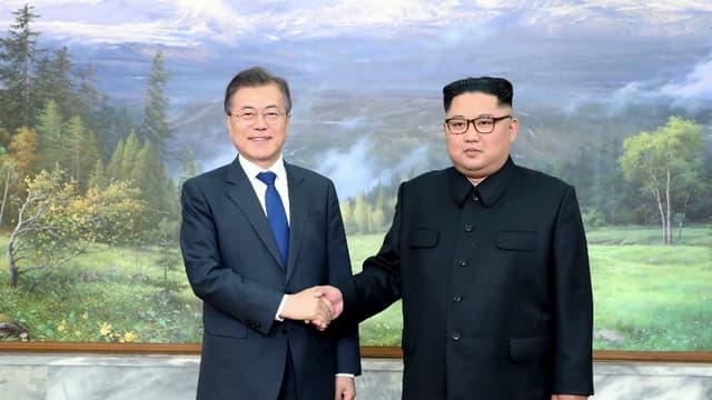 Le 26 mai 2018, les présidents nord et sud Coréen s'étaient rencontrés lors d'un sommet historique