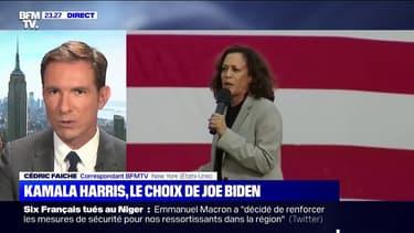 États-Unis: la sénatrice démocrate Kamala Harris choisie comme colistière par Joe Biden