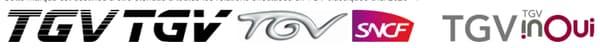 Evolution du logo TGV