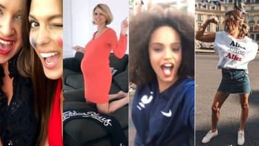 Les Miss ont fêté la victoire des Bleus