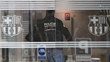 Les Mossos d'Esquadra investissent le siège du Barça