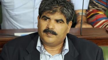 Le député de l'opposition Mohamed Brahmi, ici en octobre 2012 au sein de l'Assemblée constituante, à Tunis, a été assassiné le 25 juillet 2013.