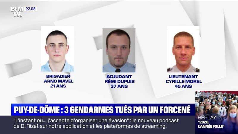 Trois gendarmes tués dans le Puy-de-Dôme: le procureur de la République de Clermont-Ferrand décrit l'assaillant comme étant un